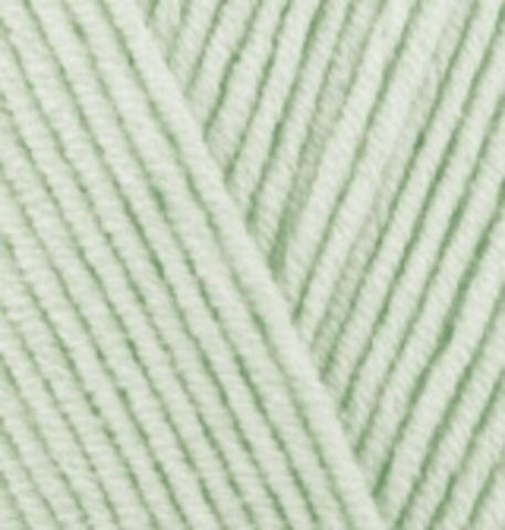 Пряжа Cotton gold (Alize) 478 Детский, зелень
