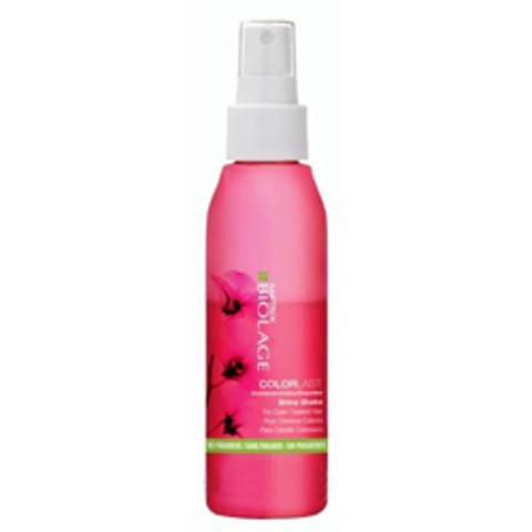 Matrix Biolage Colorlast Shine Shake Spray - Несмываемый спрей-блеск для волос