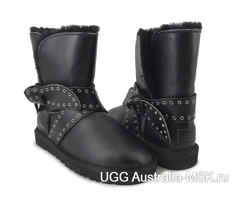UGG Women Cameron Metallik Black