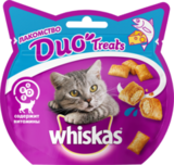 Whiskas DUO Лакомство для кошек с лососем и сыром 8х40 г. (10167962)