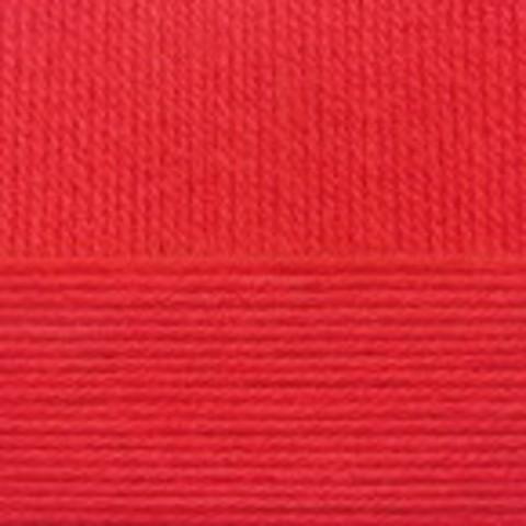 Купить Пряжа Пехорка Кроссбред Бразилии Код цвета 088-Красный мак   Интернет-магазин пряжи «Пряха»