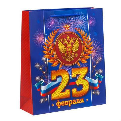 Пакет «Праздник настоящего мужества», 26×30×9