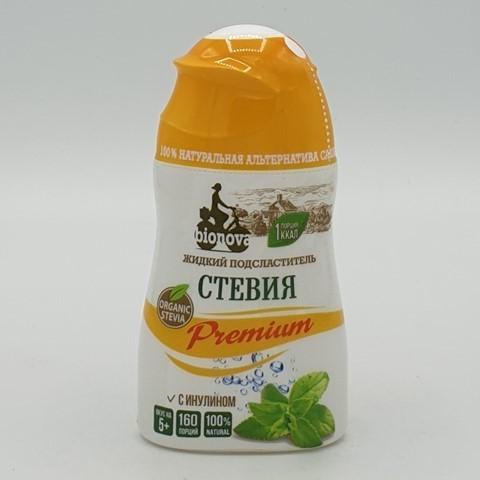 Стевия жидкий сахарозаменитель BIONOVA, 80 гр