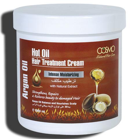 Крем для горячей обработки волос  Аргановое масло