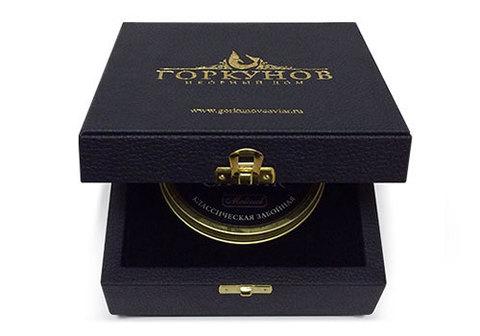 Подарочный набор с чёрной икрой осётра, 250г