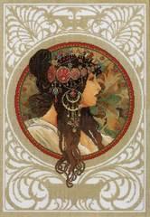 Lanarte Mucha-Brunette (Альфонс Муха Брюнетка)
