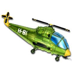 F Мини фигура Вертолёт (зелёный) / Helicopter (14