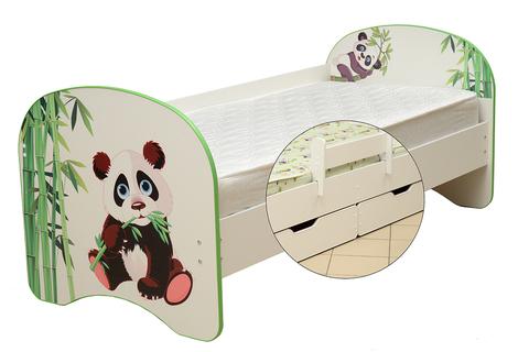 Кровать детская с фотопечатью Панда