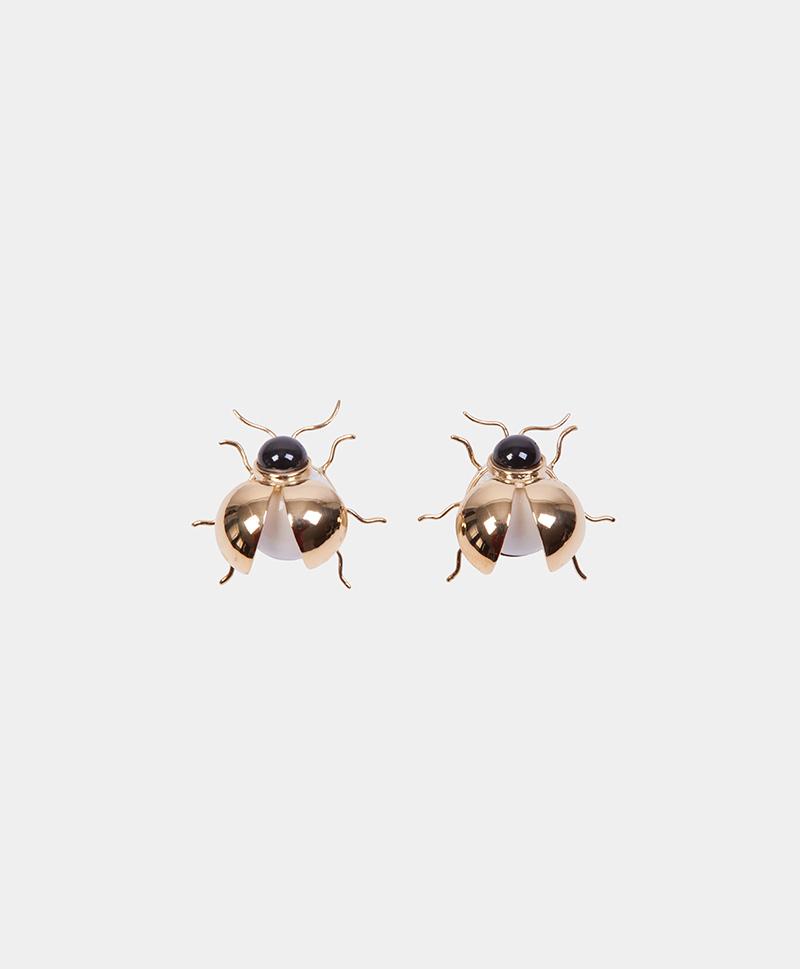 Серьги Beetle