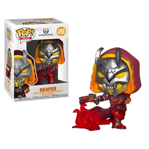 Фигурка Funko POP! Vinyl: Games: Overwatch S5: Reaper (Hell Fire) (Exc) 38181