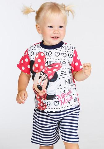 Футболка и шортики для дома с Minnie Mouse