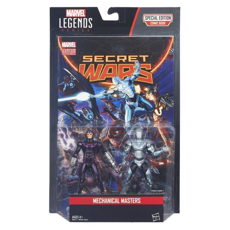Набор фигурок Железный человек и Человек Машина Marvel Legends 9, 75 см
