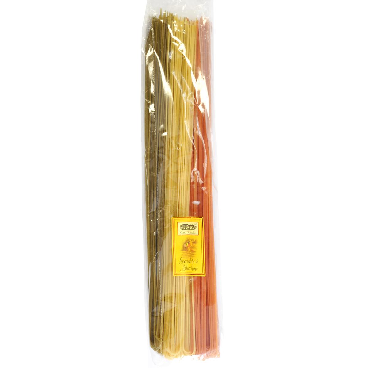 Паста цветная Спагетти Fantasia Casa Rinaldi 1 кг