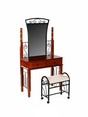Туалетный столик с банкеткой 5603-DT (MIK-5603-DT) Rose Oak