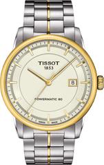 Мужские швейцарские наручные часы Tissot Luxury Powermatic T086.407.22.261.00