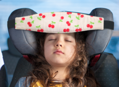 Фиксатор головы ребенка для автокресла Красная черешня