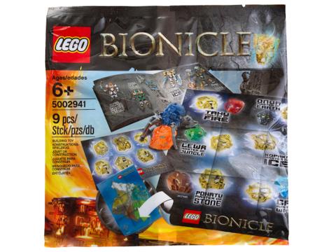 LEGO Bionicle: Набор аксессуаров Бионикл 5002941 — Bionicle Hero Pack — Лего Бионикл