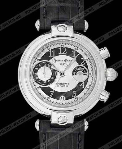 """Купить Наручные часы Полет """"Хронограф"""" 4440206 по доступной цене"""