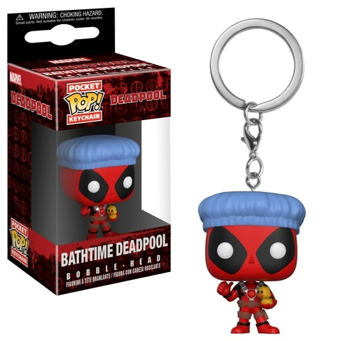 Брелок Funko Pocket POP! Keychain: Deadpool BathTime 31734-PDQ