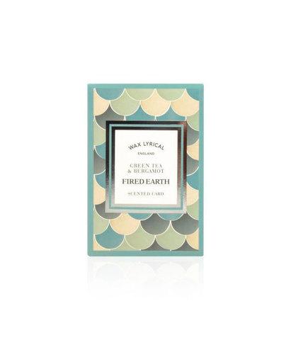 Ароматическая карточка Зеленый чай и бергамот, Wax Lyrical