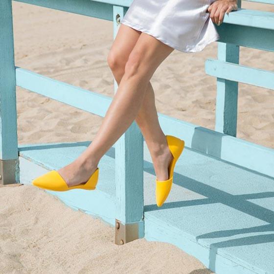 Балетки Native Audrey Groovy Yellow желтый