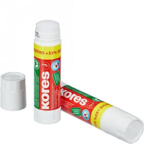 Клей-карандаш 15г KORES +33% Free (20г по цене 15)