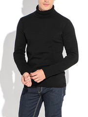 9311-5 водолазка мужская, черная