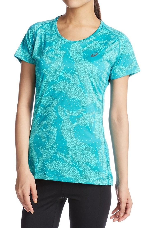 Женская беговая футболка Asics FujiTrail Graphic SS (125150 0124)