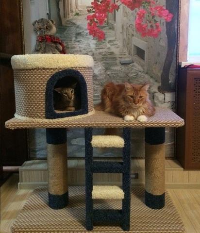 Домик для кошки Н-5