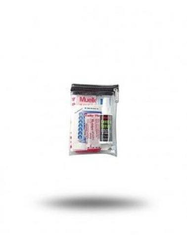 17058 Clear Zipper bag Small Прозрачная сумка на молнии (незаполненая) Размеры 14 х 19 см