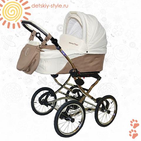 """Коляска Stroller B&E """"Maxima Vegas"""" 2в1 (Классическая Рама)"""