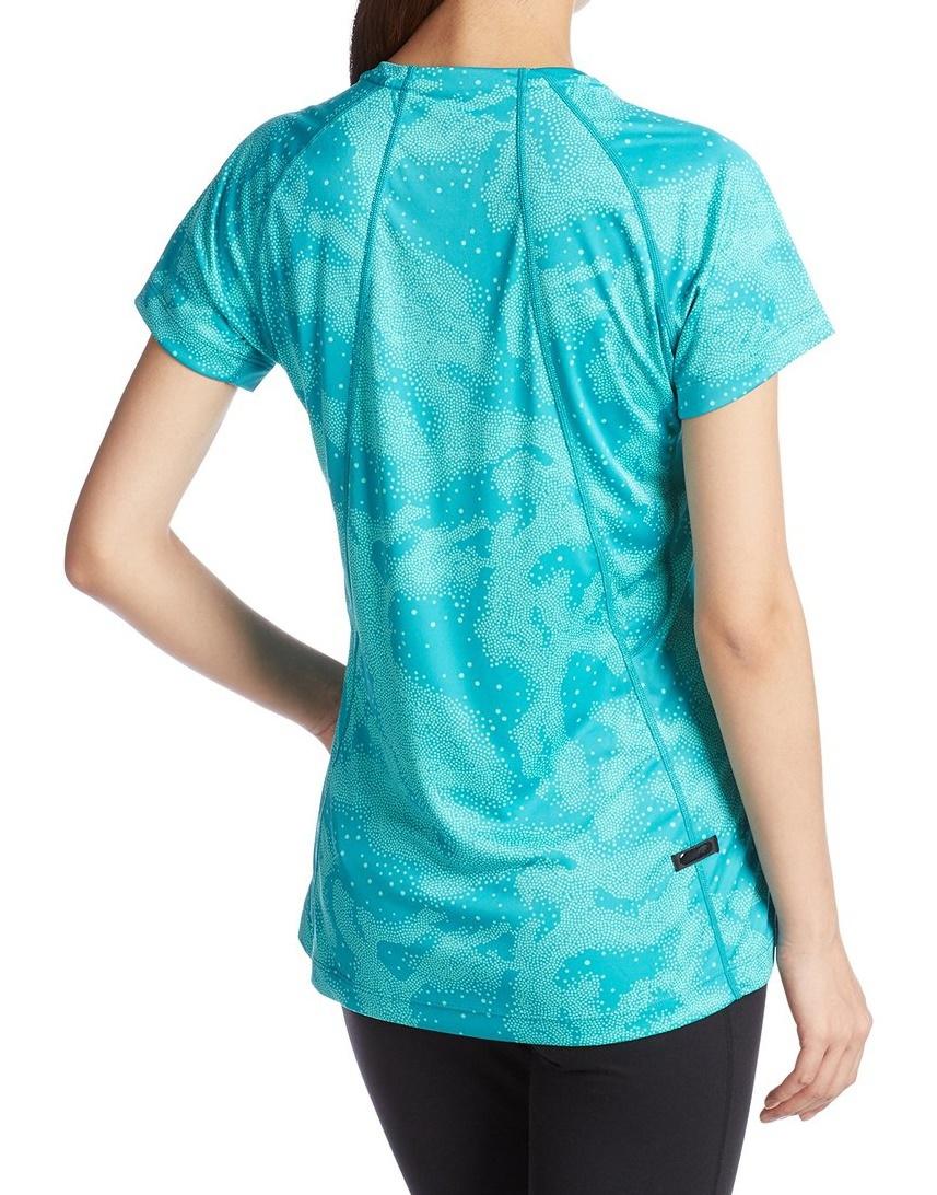 Женская футболка для бега Asics FujiTrail Graphic SS (125150 0124) фото
