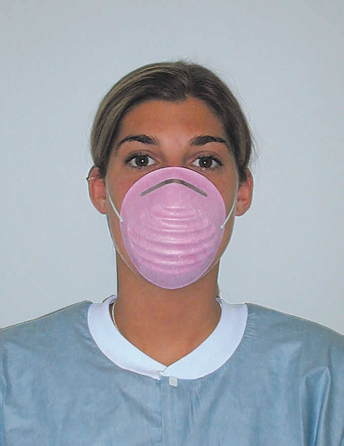 Одноразовые хирургические маски Surgical Molded