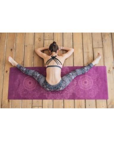 Коврик для йоги Mandala 183*61*0,1-0,3 см из микрофибры и каучука