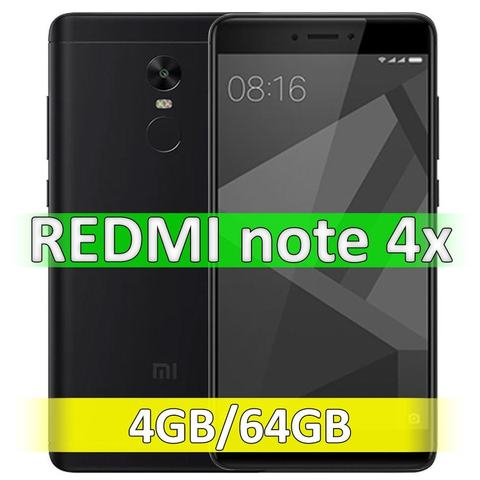 Xiaomi Redmi Note 4X (4-64Gb) Black