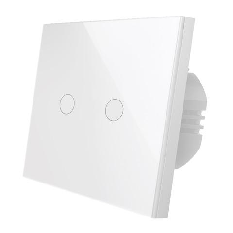 Wi-Fi выключатель двухканальный Rubetek RE-3317