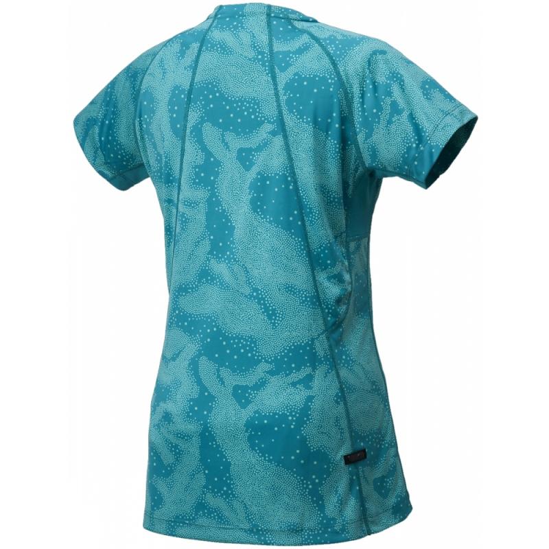 Женская футболка для бега асикс FujiTrail Graphic SS (125150 0124)