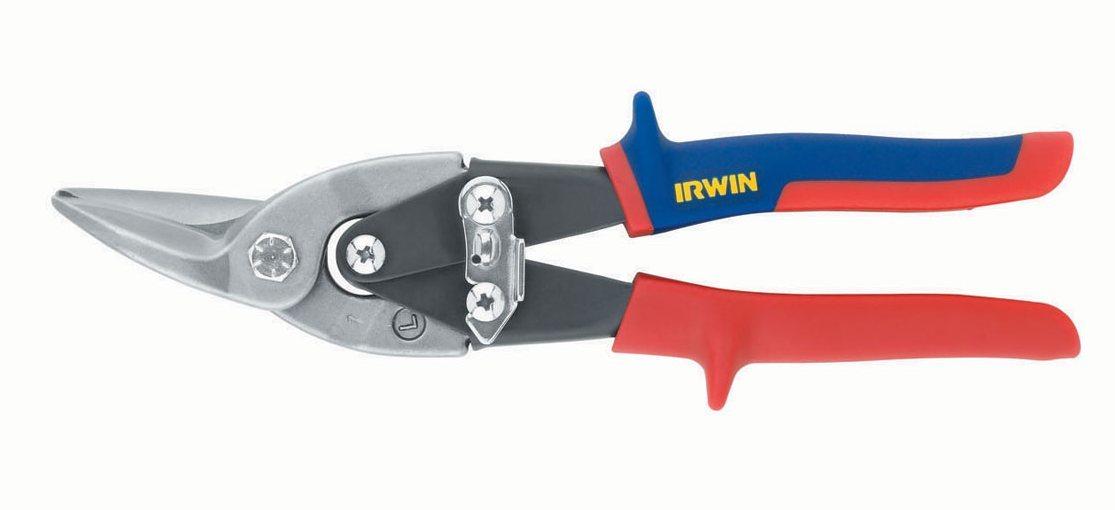 Ножницы по металлу 101/250 мм левые Irwin 10504309N