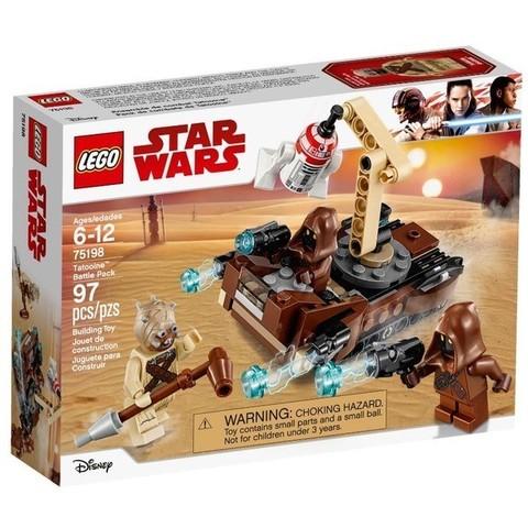 LEGO Star Wars: Боевой набор планеты Татуин 75198 — First Order Transport Speeder Battle Pack — Лего Стар ворз Звёздные войны