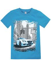 BK003-38 футболка детская, голубая