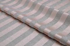 Шенилл-жаккард Moire stripe pink (Моир страйп пинк)