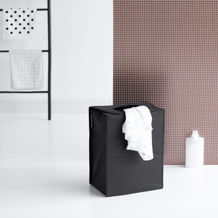 Сумка для белья прямоугольная (55 л), Черный, арт. 101762 - фото 1