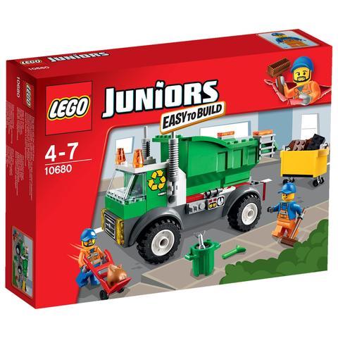 LEGO Juniors: Мусоровоз 10680 — Garbage Truck — Лего Джуниорс Подростки
