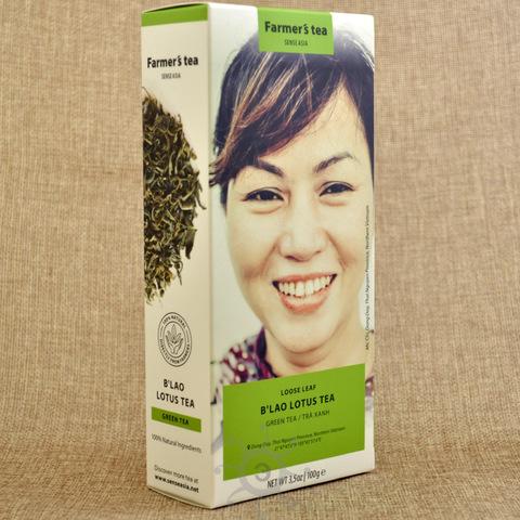 Чай зеленый с лотосом Sense Asia, 100г
