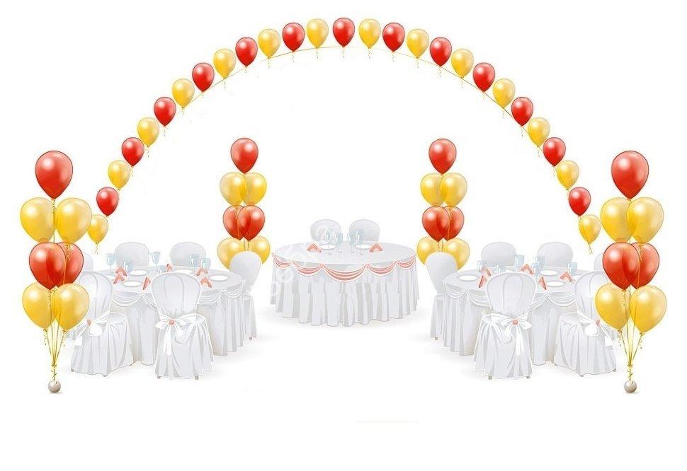 Воздушные шары на День Рождения Оформление №4 224.970x0.jpg