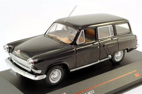 GAZ-M22 Volga black 1964 IST107 IST Models 1:43 used