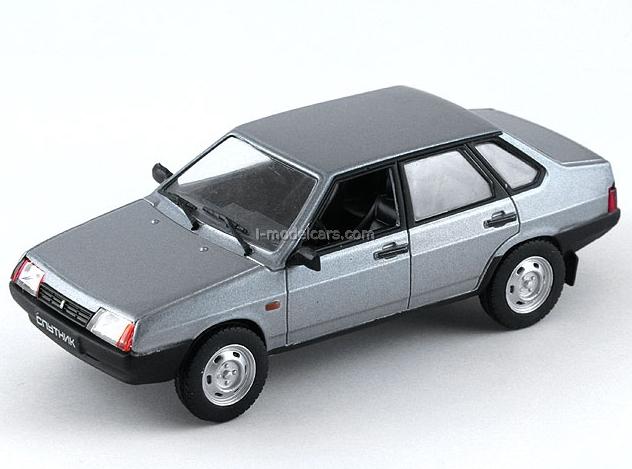 VAZ-21099 Sputnik Lada Samara dark gray 1:43 DeAgostini Auto Legends USSR #56