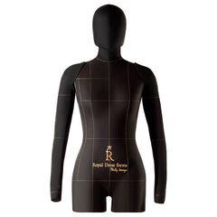 Комплект с манекеном Lux черный с руками и головой