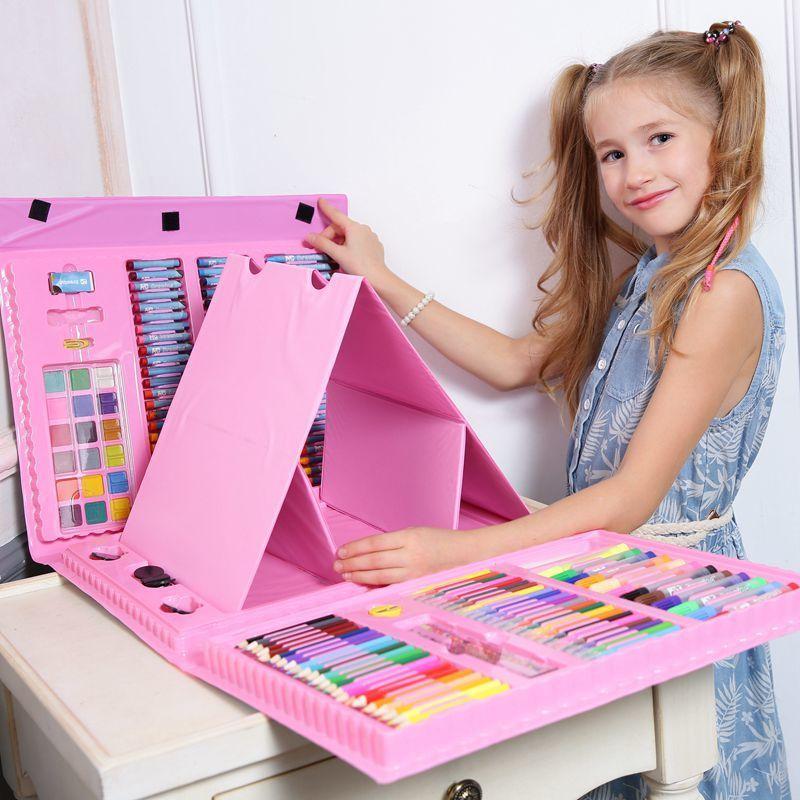 Уцененные товары Художественный набор для рисования 176 предметов art_color_kit.jpg