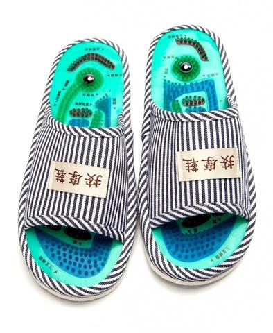 Тапочки массажные Шиацу (39-41 размер)
